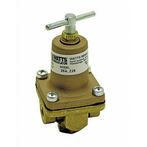 WATT'S WATER REGULATOR - 3 TO 50 PSI