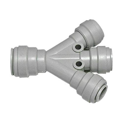 Draught Beer > Tapping Hardware > Tube and Hose Fittings > JG Push-In Fittings > JG 2 and 3 Way Dividers