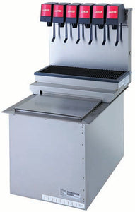DROP-IN ICE COOLED DISPENSERS