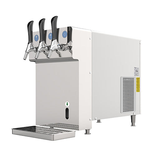 CRYSTAL COUNTERTOP CHILLER/DISPENSER w/ BUILT-IN CARBONATOR - 115V