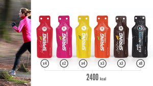 50K Runs Warrior Energy Gel Pack (24 Qty)