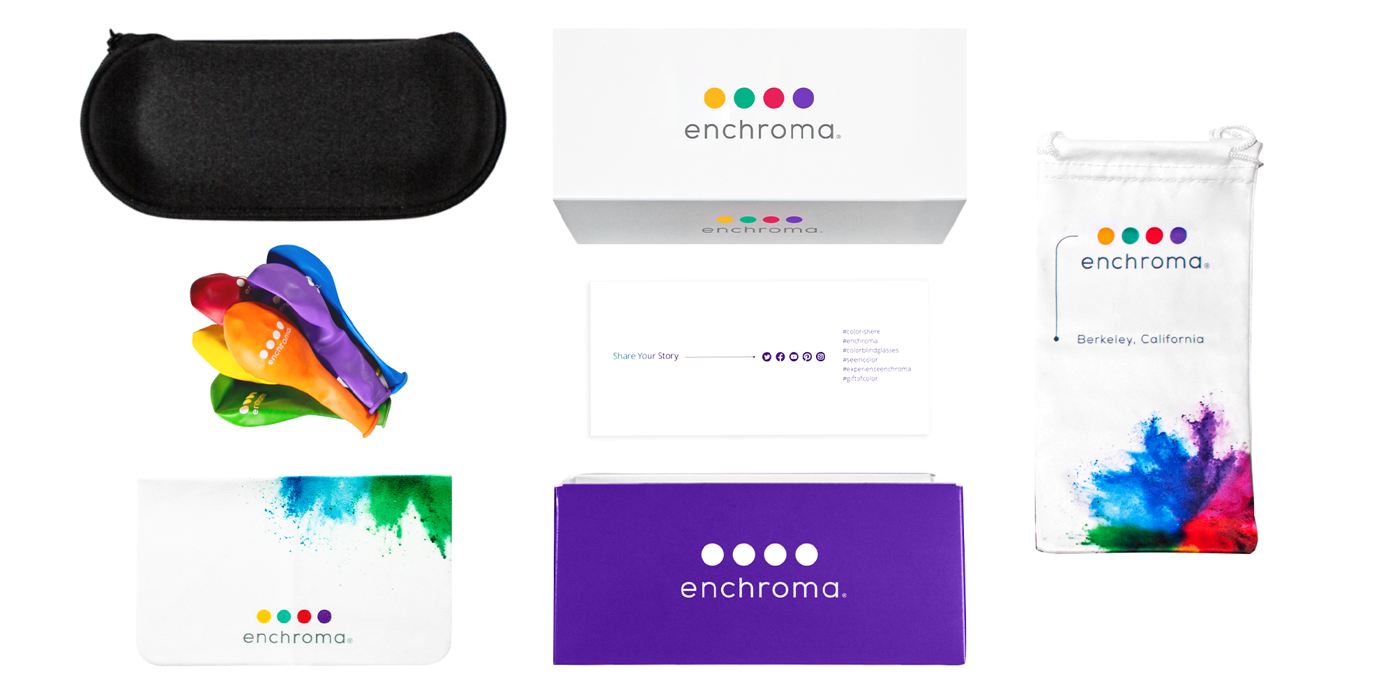 What is inside the EnChroma Box