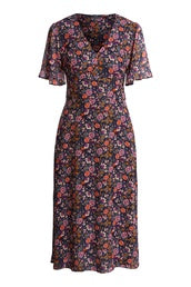 Set Autumn Floral Dress