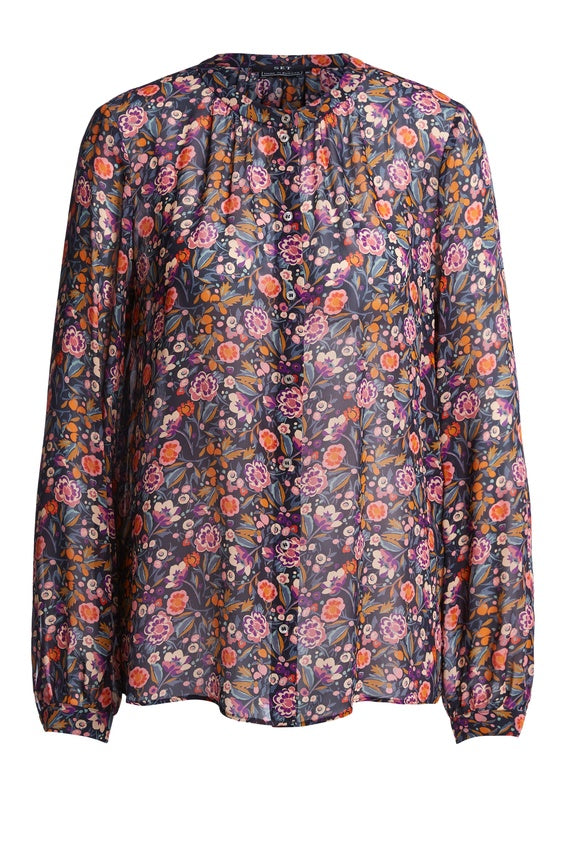 Set Autumn Floral Blouse