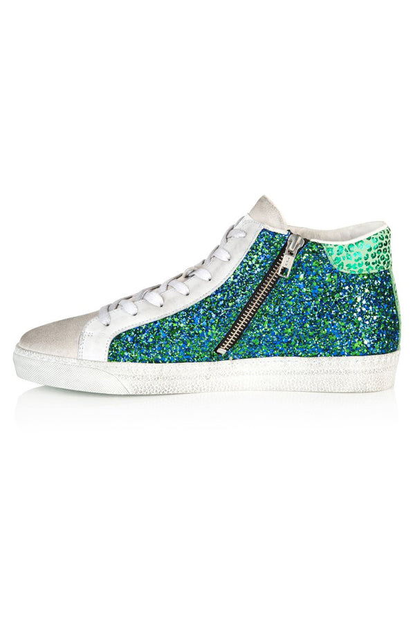 Air and Grace Alto Blue/Green Glitter