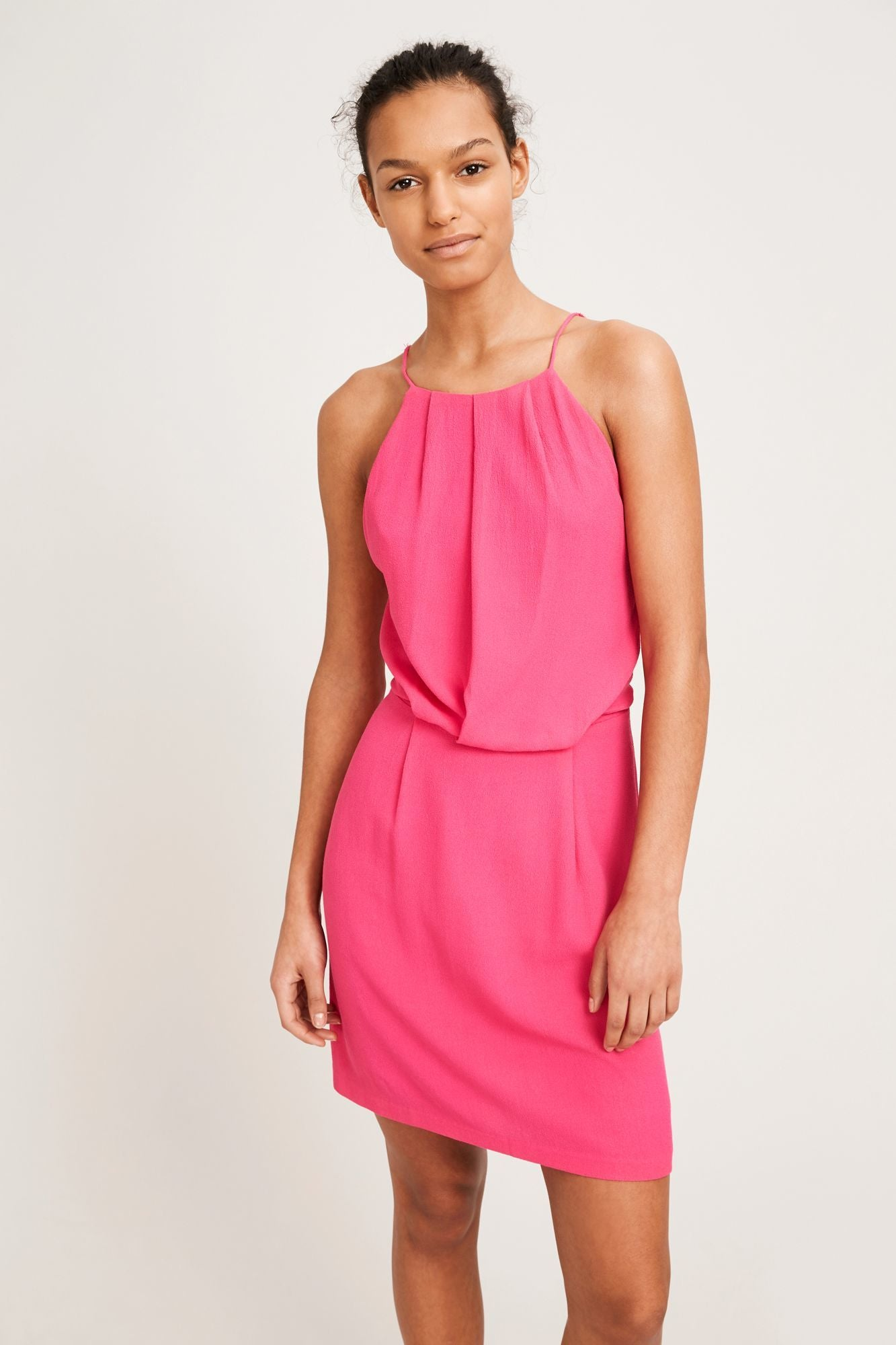 Samsoe Willow Short Pink Dress