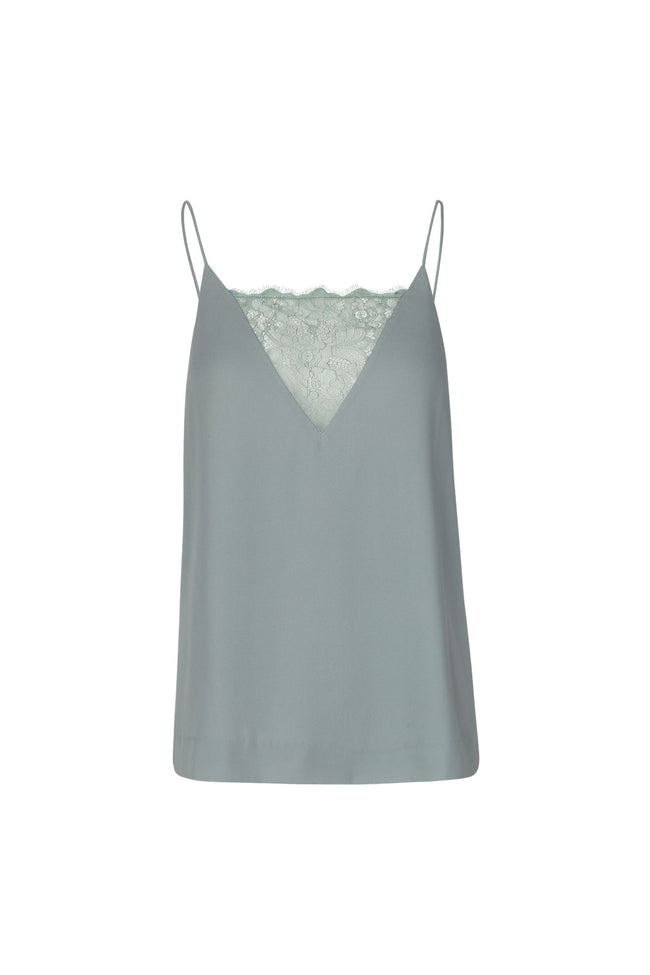 Samsoe Biaf  Green Lace Top