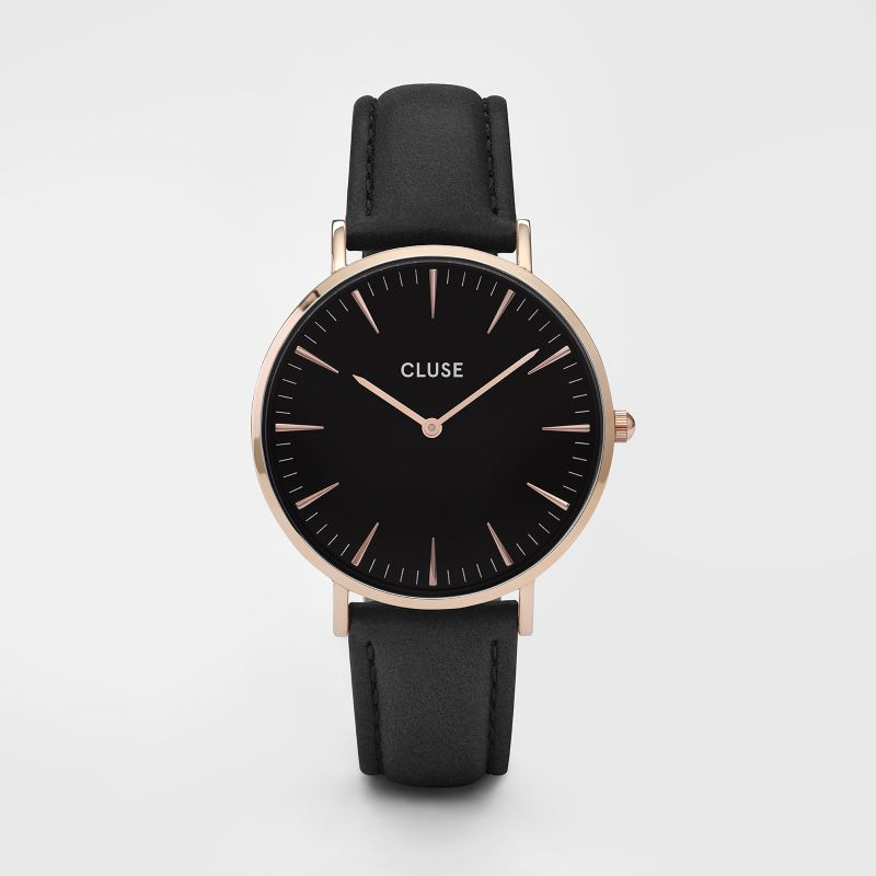 Cluse La Boheme Rose Gold Black/Black