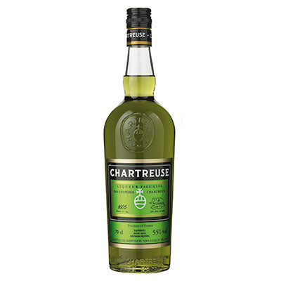Chartreuse Verte 37,5cl. Chartreuse Diffusion, Voiron, Frankrig