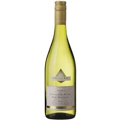 Image of   Crystal Bay Sauvignon Blanc Marlborough 2016 - Hvidvin