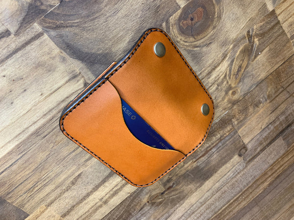Stash Snap Wallet with D-Ring Wallet