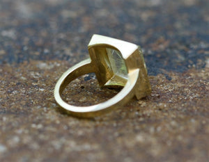 Pyramid Cabochon Ring