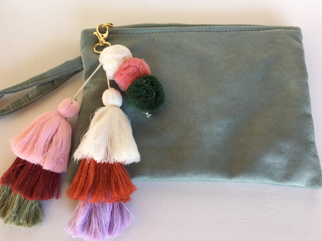 Clutch Bag - Alcadara Light Green