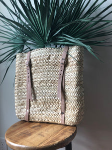 "H 16"" x L 14"" BASKET BACKPACK"