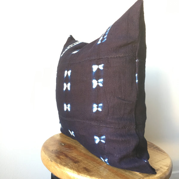 REGULAR SHIBORI MUDCLOTH Pillow Cover