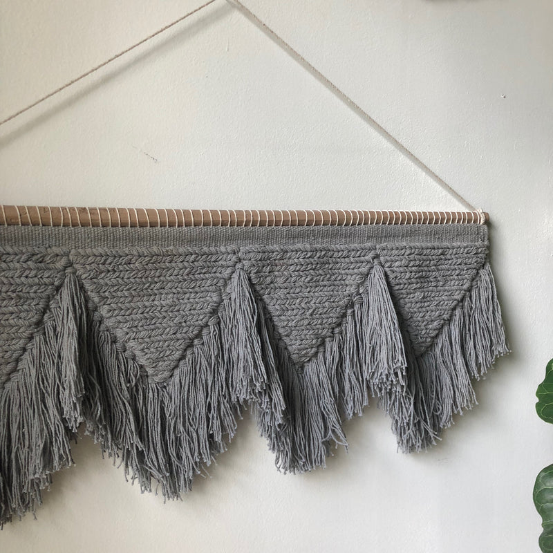 Gray Wall Hanging