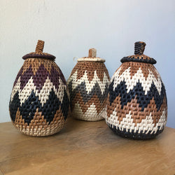 Zulu Palm Herb Basket