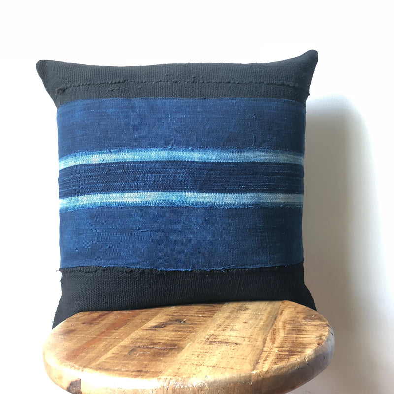 BAOULE STRIPE MUDCLOTH Pillow Cover