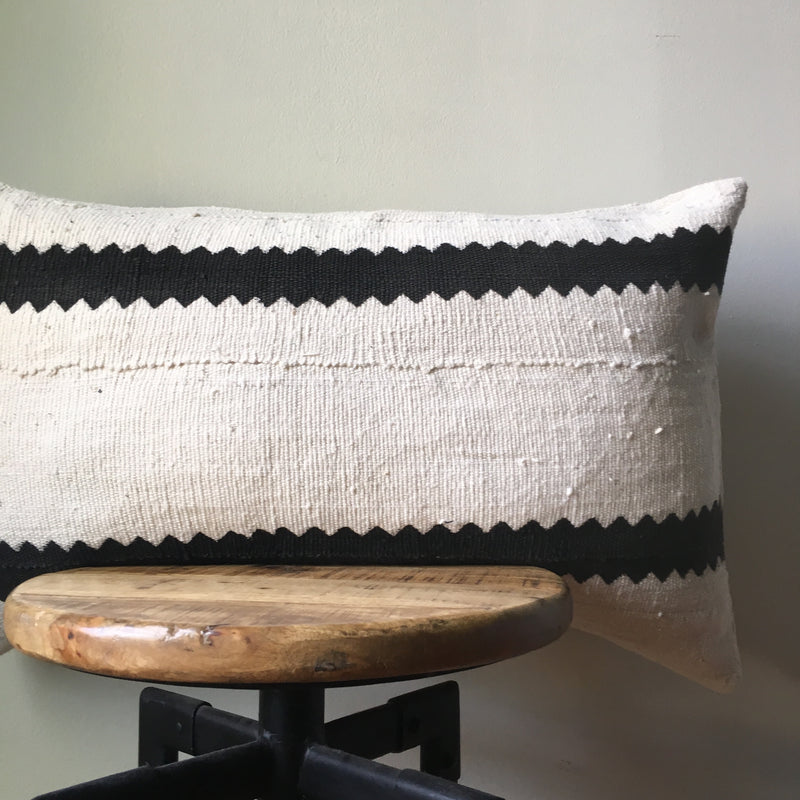 ZIGZAG MUDCOTH Pillow Cover