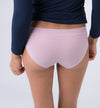 Women's briefs in natural fabric | Powder pink