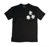 100% Recycled Cotton T-Shirt w Alu Flowers (3)