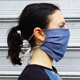 Upcycled Denim Reusable Face Mask