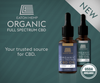 Unfiltered, Full-Spectrum Regular Strength CBD Oil - 2oz 1000mg