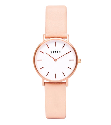 THE PINK AND ROSE GOLD PETITE 33mm