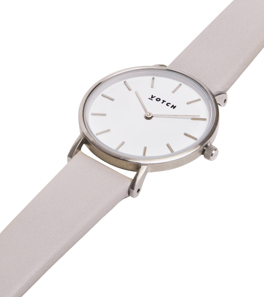 THE LIGHT GREY AND SILVER PETITE 33mm