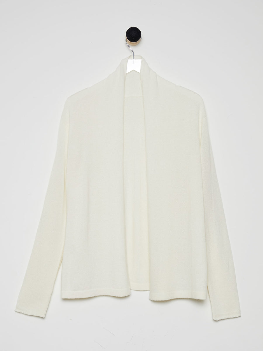 100% Pure Cashmere Open Placket Cashmere Cardigan
