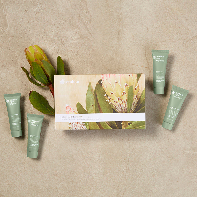 endota spa Holiday Body Essentials