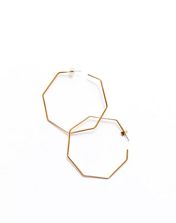 Octagon Hoops, Brass