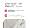CloudCloth Reusable Facial Cleansing Cloths