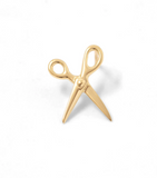 Scissor Earring 14K Yellow Gold - Pair