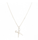Scissor Necklace - Sterling Silver
