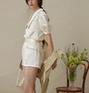 Could In Summer - French Style Short Set