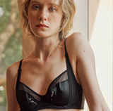 Muse Series | Silk Bras & Underpants with Special Embroidary (2-Piece Set)