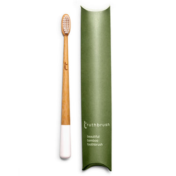 White Medium Adult Truthbrush