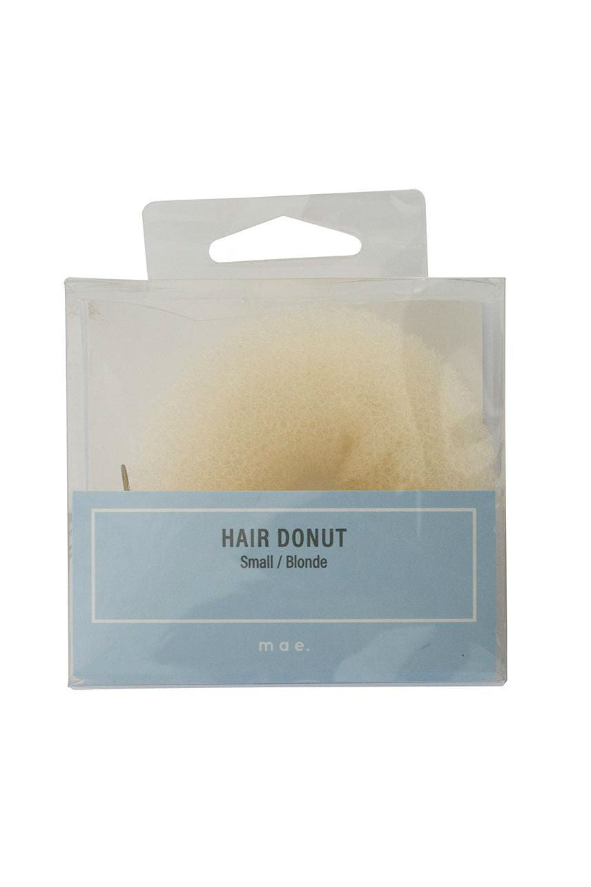 MAE 40-2002BL Hair Donut Small Blonde - Life Pharmacy St Lukes