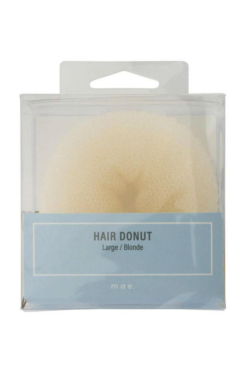 MAE 40-2003BL Hair Donut Large Blonde - Life Pharmacy St Lukes