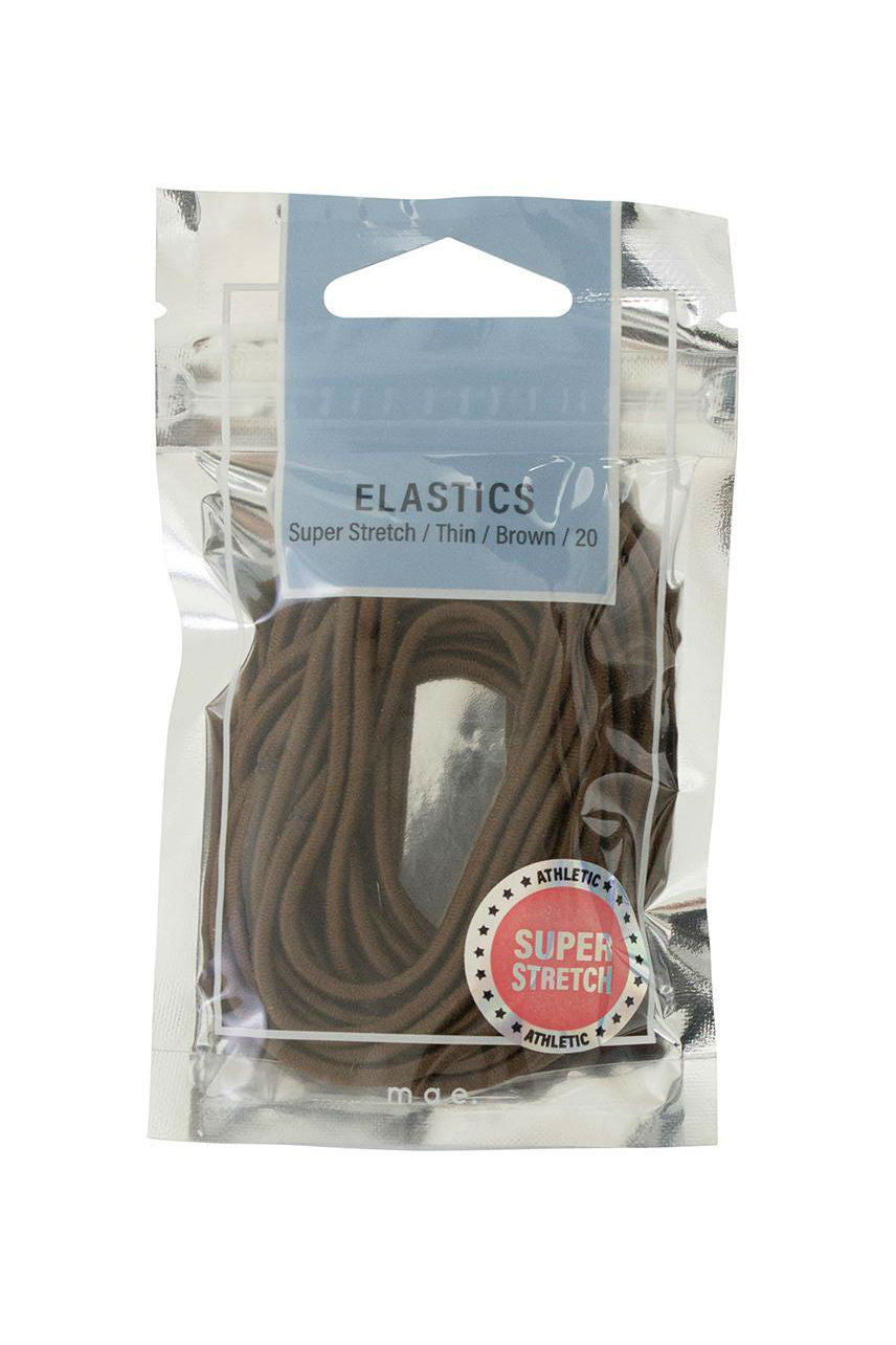MAE 40-2204BR Elastic Stretch Brown 20pcs - Life Pharmacy St Lukes