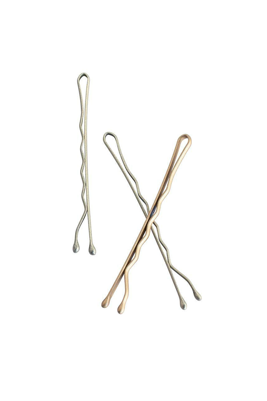 MAE 40-2601SB Bobby Pin 5cm Satin Blonde 60pcs - Life Pharmacy St Lukes