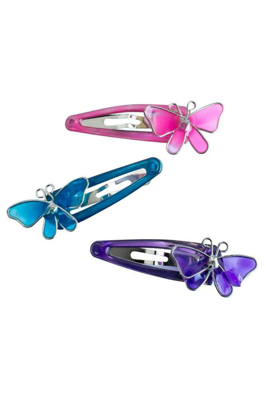 MAE 40-3101 One Touch Clip 4cm Butterflies 6pcs - Life Pharmacy St Lukes