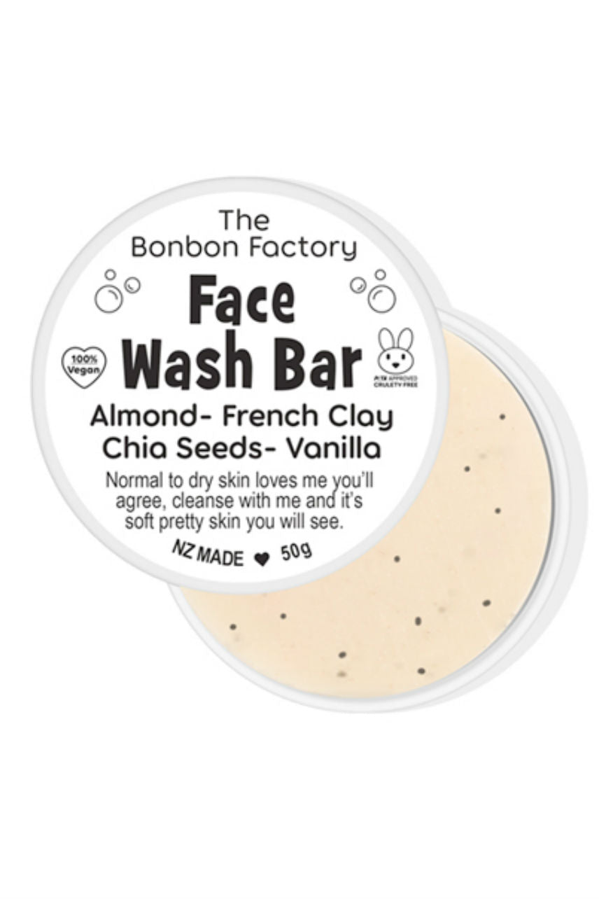BONBON Face Wash Bar Almond 50g - Life Pharmacy St Lukes
