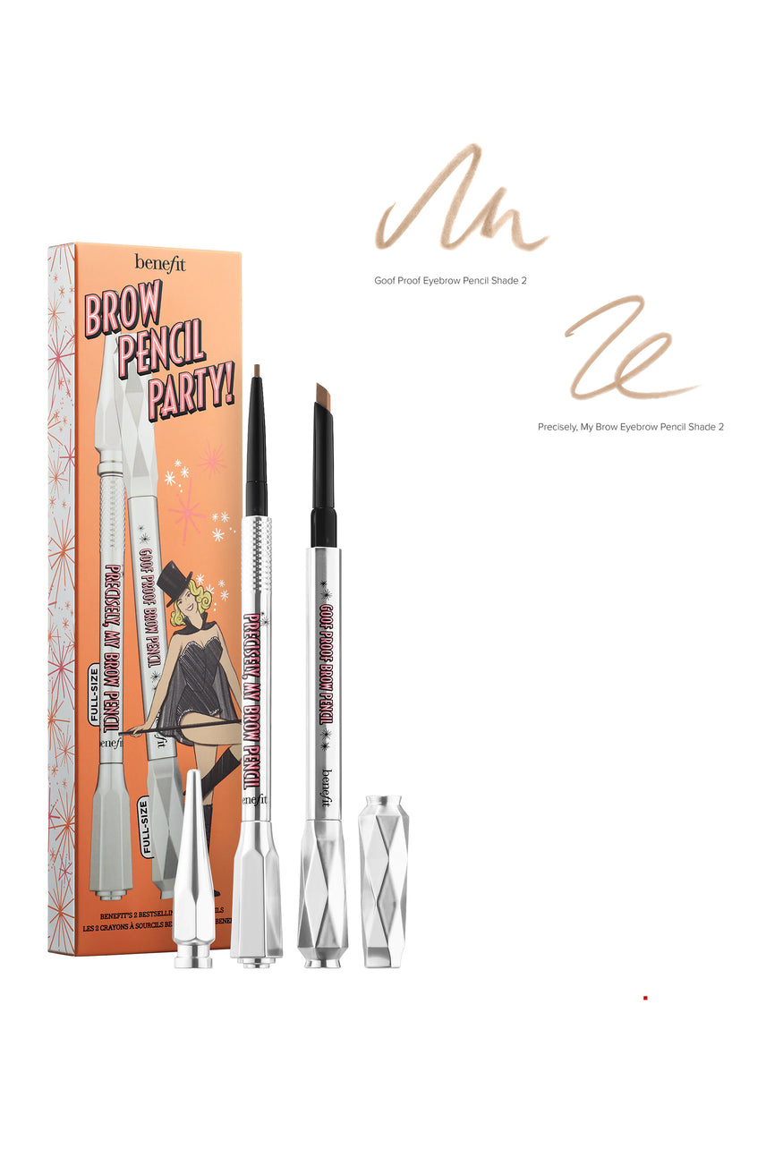 BENEFIT Brow Pencil Party 2 -  Warm Golden Brown - Life Pharmacy St Lukes