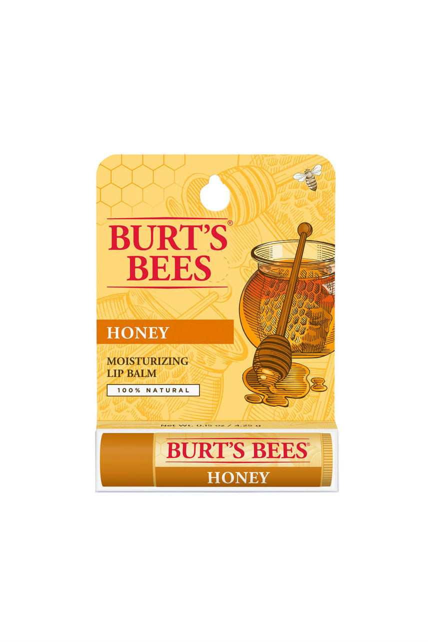 BURTS Bees Honey Lip Balm Tube 4.25g - Life Pharmacy St Lukes