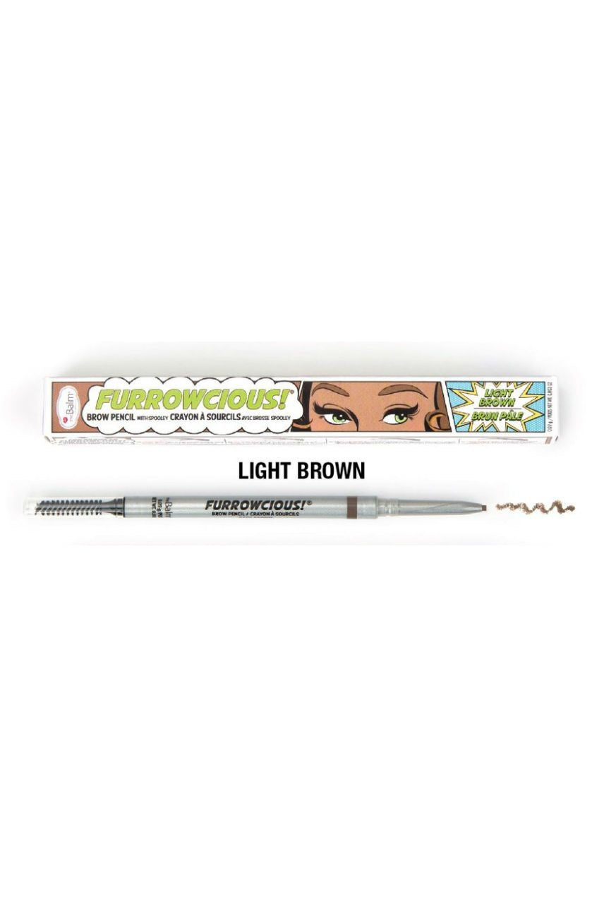 THEBALM Furrowcious Brow Pencil Light Brown - Life Pharmacy St Lukes