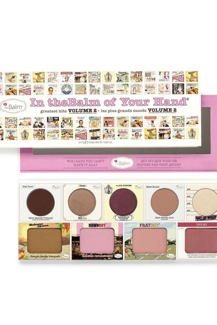 THEBALM In The Balm of Your Hand Palette #2 - Life Pharmacy St Lukes