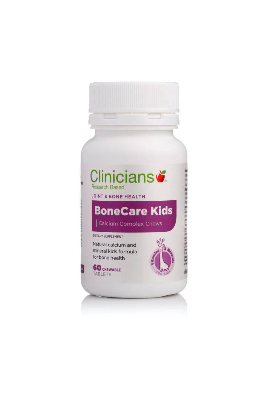 CLINICIANS Bone Care Kids Chew 60tabs - Life Pharmacy St Lukes