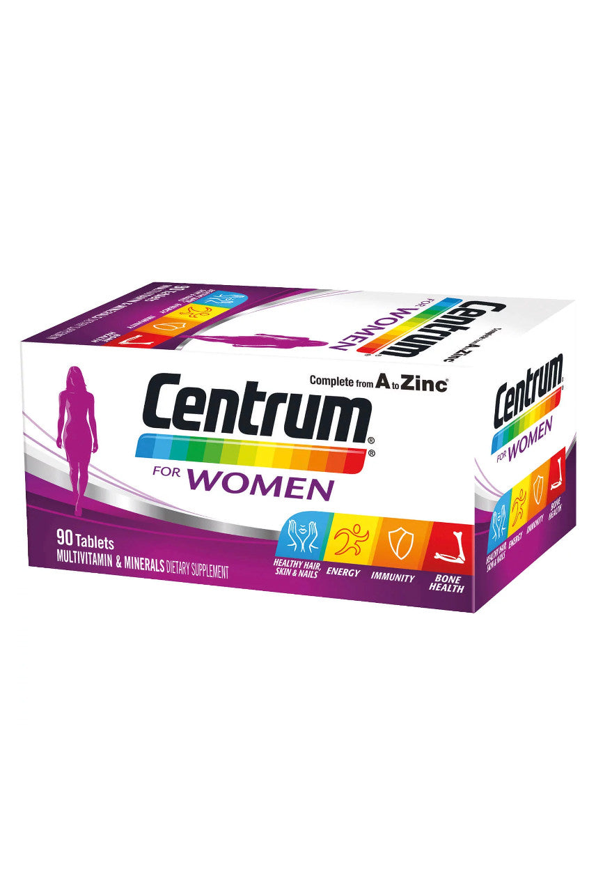 CENTRUM Women 90 Tabs - Life Pharmacy St Lukes
